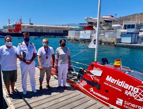 Antonio de la Rosa concluyó con éxito su travesía entre Sevilla y Tenerife